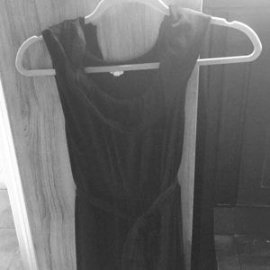 J crew mid length dress size s